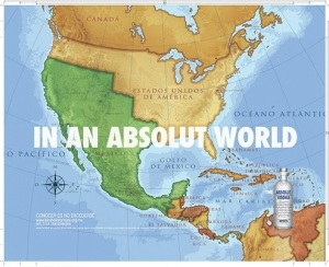 Absolut Vodka Ad (Mexico, 2008)