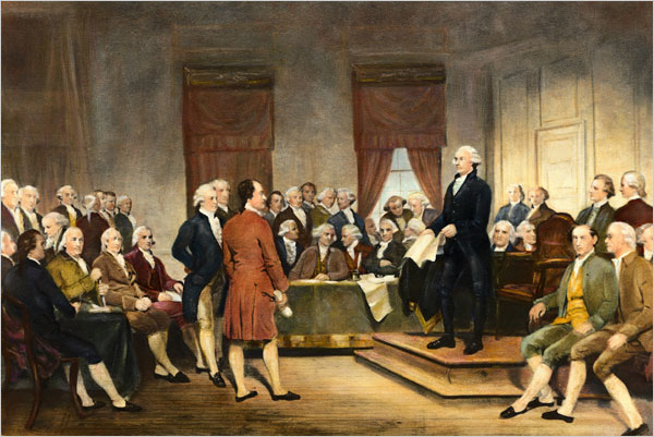 Image result for images george washington prayer continental congress